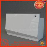 Contador de mostrador de caja de madera