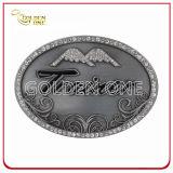方法デザイン不規則性の骨董品によってめっきされる金属のベルトの留め金