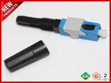 3.0Mm SC à fibre optique monomode APC connecteur assemblage sur le terrain