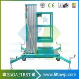 12m Aluminiumlegierung-vertikale Mann-Aufzug-Plattform-beweglicher Aufzug mit Cer