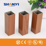 Perfil de aluminio de la protuberancia del perfil de aluminio de Trsanfer del perfil del grano de la madera de china para la industria de la puerta de la ventana