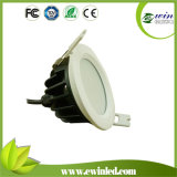 Rundes 9W IP65 LED Downlight mit 3years Warranty