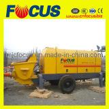 Bomba concreta elétrica montada do fornecedor 69cbm/H reboque hidráulico perito