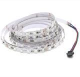 Indicatore luminoso di striscia al neon Cuttable della flessione LED dell'espulsione indirizzabile programmabile del silicone di SMD 5050 12V 24V