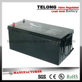 o UL 12V200ah aprova a bateria acidificada ao chumbo selada recarregável