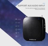 Altifalante portátil de megafone 15W com microfone de alta potência, sistema PA AMPLIFICADOR DE VOZ