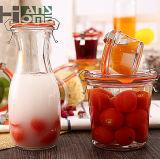 récipients d'entreposage transparents scellés par glace de fruits secs de choc de miel de choc de mémoire de cuisine de part mince du choc 1000ml de bol de fraise