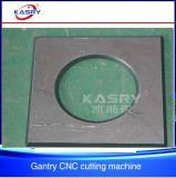CNC van het Deksel van de Schotel van het schip de Machine van het Hoofd van het Gas Knipsel van het Plasma en van de Vlam en van Beveling van 360 Graad