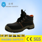Venta caliente precio barato PU única Puntera cuero genuino Industrial impermeable Zapato de seguridad Trabajo duraderas para los hombres
