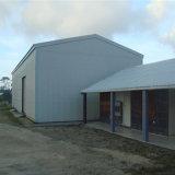 現代構築デザイン鉄骨構造のプレハブのガレージ