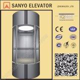 LMR ascenseur rond de panorama de 180 degrés (modèle : SY-GB-1)