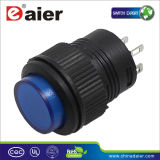 미십시오 Switch, 12volt Illuminated Push Button Switch (R16-503AD/R16-503BD)를
