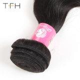 Cabelos Omber Reta Pre-Coloed #1b/99j 9 brasileiro uma Virgem Remy Hair tecer dois pacotes de cabelo cor de tom (TFH18)