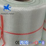 ボートおよび管の作成のためのガラス繊維によって編まれる非常駐ファブリック
