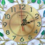 절묘한 벽 커튼 시계, 3D 기복 벽 예술 시계