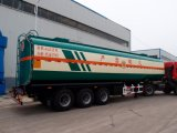 三車軸ディーゼルタンカーのトレーラー45000リットルの重質燃料の