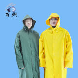 PVC caldo di Sell/Polyester Coating Rainwear con Hood