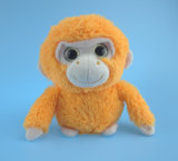 4 색깔에 있는 연약한 채워진 견면 벨벳 원숭이 장난감