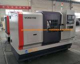 Tck-6350 절단 금속을%s 기우는 침대 포탑 CNC 도는 공작 기계 & 선반