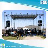 Pequeño braguero de la iluminación de la etapa del concierto al aire libre del acontecimiento