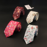 6cm cravate coton BZ0001