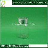 금 Color Metal Cap 60ml Square Pill Bottle