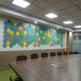 Comitato acustico insonorizzato della parete decorativa interna con la fibra di poliestere (PAP05-1)