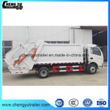 7cbm Dongfeng Hydraulic Automatic Loading Euro 3 Waste Garbage Compactor Truck