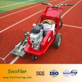Máquina de pavimentação (com gerador) para a trilha atlética plástica