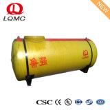 Fibra de vidrio y acero al carbono de pared doble tanques de combustible subterráneos para Gasolinera