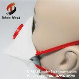 Mascherina di polvere pieghevole di figura del mollusco di protezione dalle radiazioni di N95 3ply con la valvola