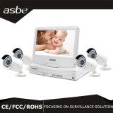 câmera impermeável do equipamento da segurança do CCTV do jogo do IP P2p Nvt de 720p WiFi para a HOME