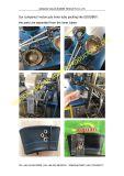 天然ゴムのオートバイの内部管(400-8)