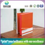 Caixa de empacotamento personalizada da impressão do cartão para o segurador