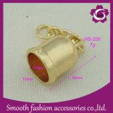Accessori dell'inarcamento del tappo dell'estremità del cavo del Drawstring del metallo del regalo del hardware di modo