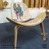 Стул раковины салона валика ткани деревянный (GV-CH07)