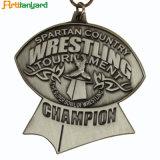 Le dessin du client Wholeale Antique médaille de métal