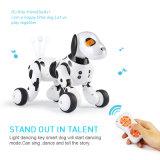 Giocattolo elettronico del cane del robot intelligente di telecomando con camminare e ballare