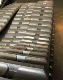 Les chenilles en caoutchouc pour excavatrice machinerie de construction/finisseur
