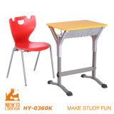 رخيصة عامّة طالب طاولة وكرسي تثبيت مصنع محدّد (ألومنيوم قابل للتعديل)