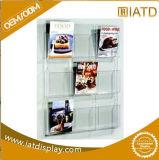 Sauter vers le haut l'étagère acrylique d'espace libre de cadre de chaussure de mémoire de compteur de support de bougie de présentoir pour /Cellphone/Computer/Hotplate/Oven