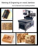 machine de marquage au laser CO2 dynamique pour des jeans en cuir de la carte de papier