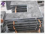 Nuovo camino del granito del nero di vendita di Hote di stile con l'inserto del focolare