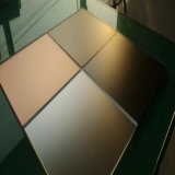 4mm hanno temperato il prezzo di vetro inciso acido Bronze