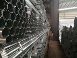 Fábrica Pre-Galvanizada de Tianjin de la dimensión de una variable redonda del tubo de acero