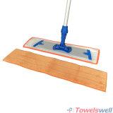 ぬれたモップをきれいにするMicrofiberの床
