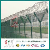 Comitati rivestiti galvanizzati della rete fissa della rete metallica dell'aeroporto di alta obbligazione del PVC