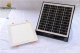 Tipo quadrato indicatore luminoso di soffitto solare di 15W LED con l'adattatore di potere per uso di notte e di giorno (SN2016012+SN2016030)
