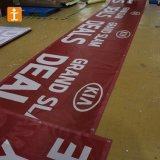Bandiera su ordinazione della rete fissa della maglia del PVC, bandiera della rete fissa della maglia del tessuto