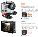 Ультра дистанционное управление Helmet Action Camera 4k HD WiFi Sport Camera Dual Screen Waterproof